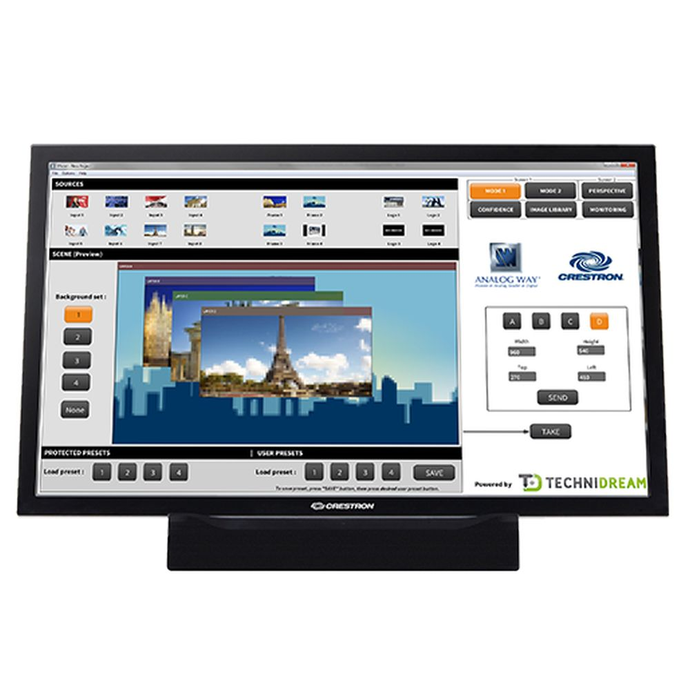 VideoCompositor High-end Crestron