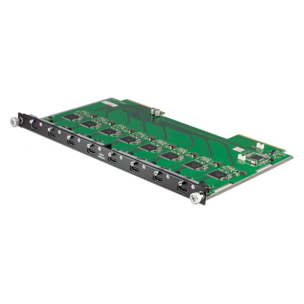 8 x HDMI Input Module with 4K resolution support