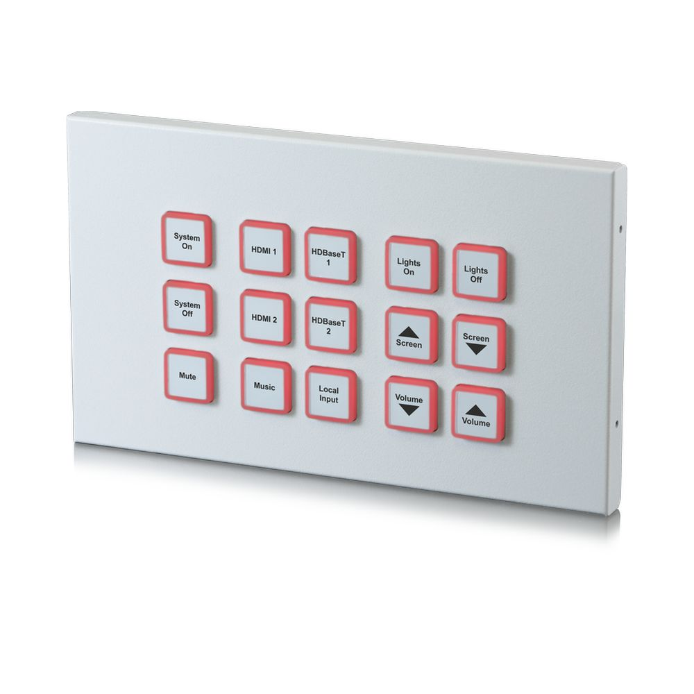 15 Button Control Keypad - IP & Relay (2-gang)
