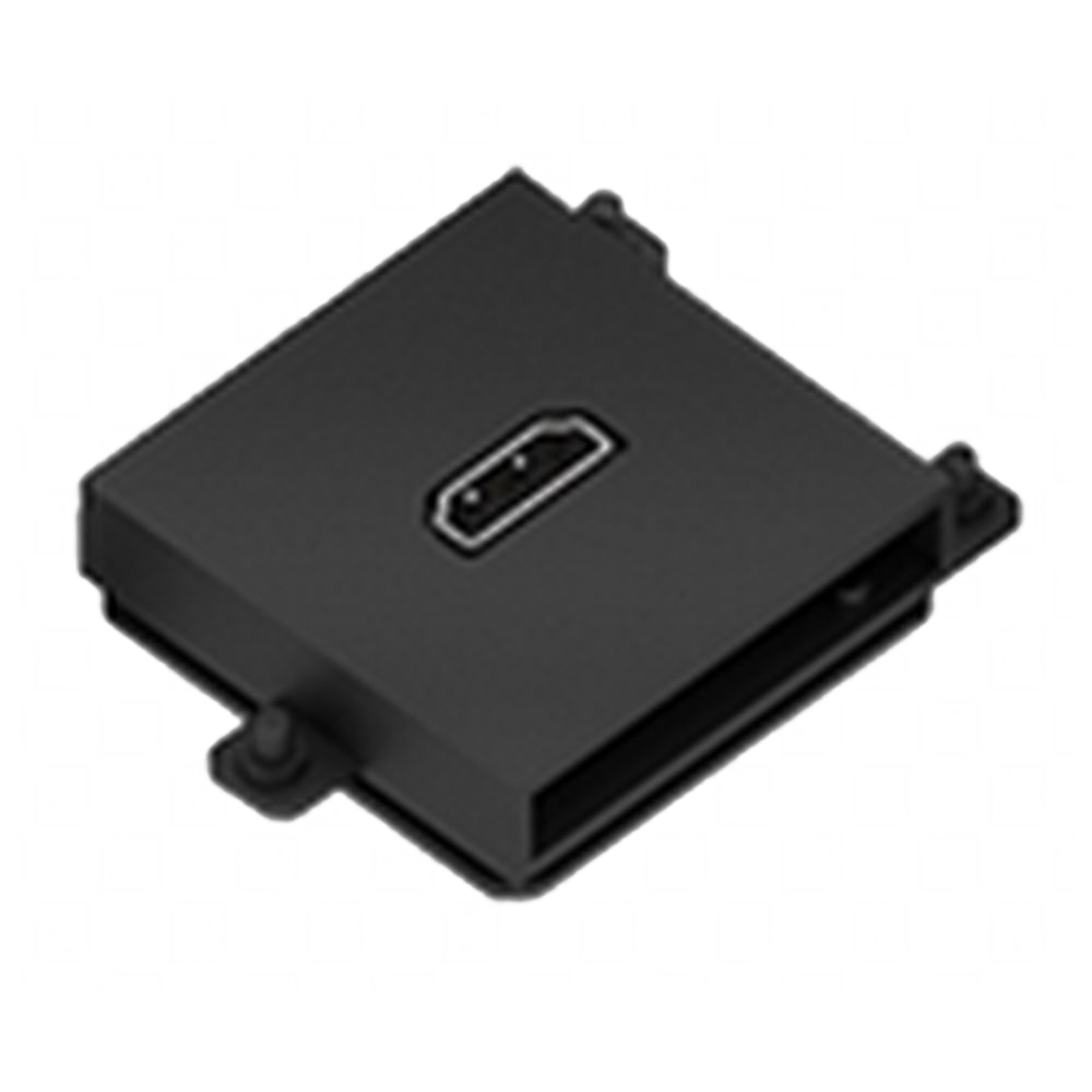 Connector Module Hdmi Colour Black