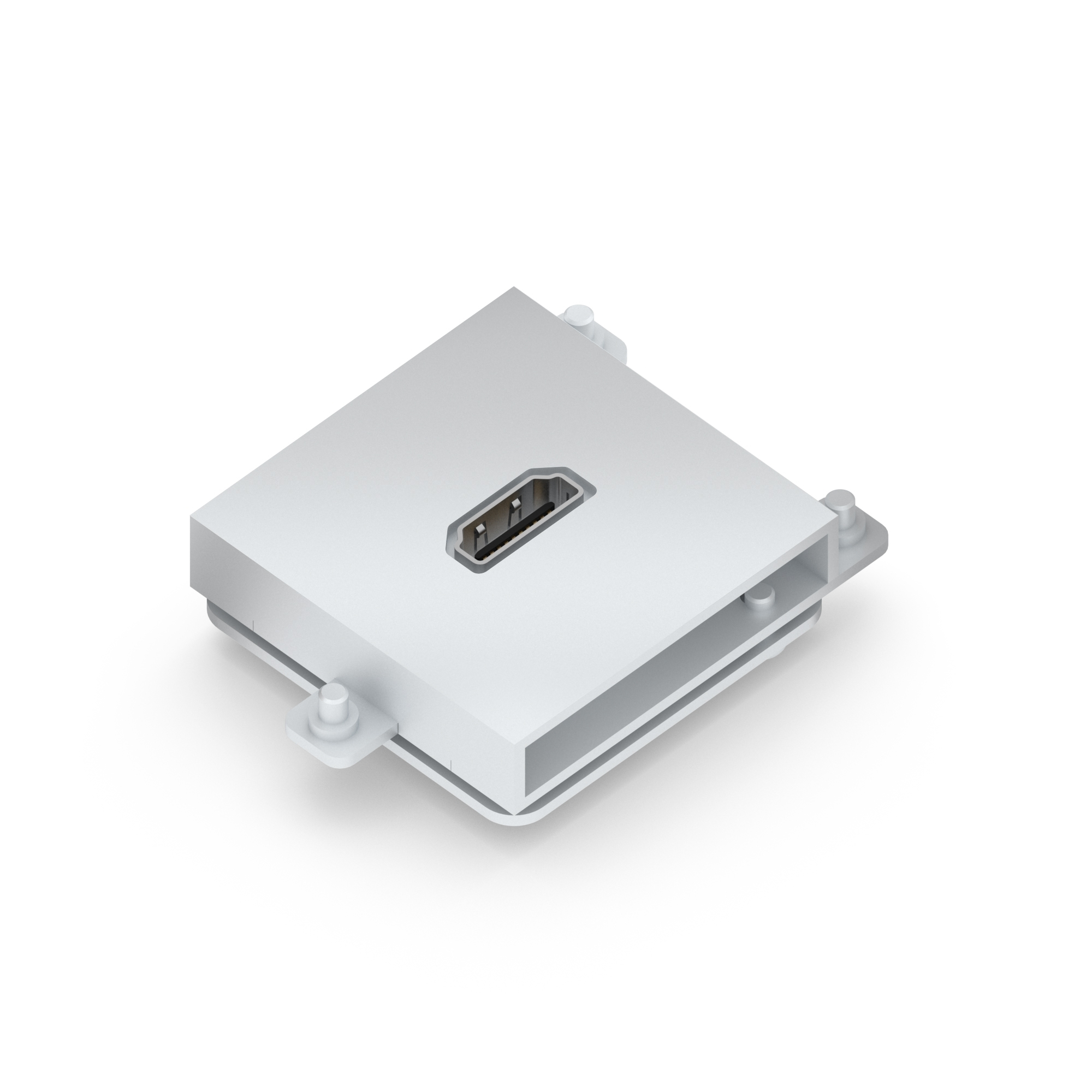 Module Hdmi Colour Silver