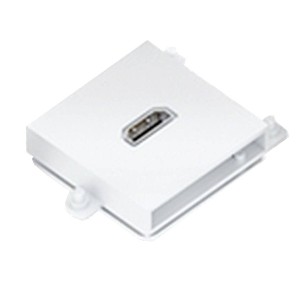 Connector Module Hdmi Colour White