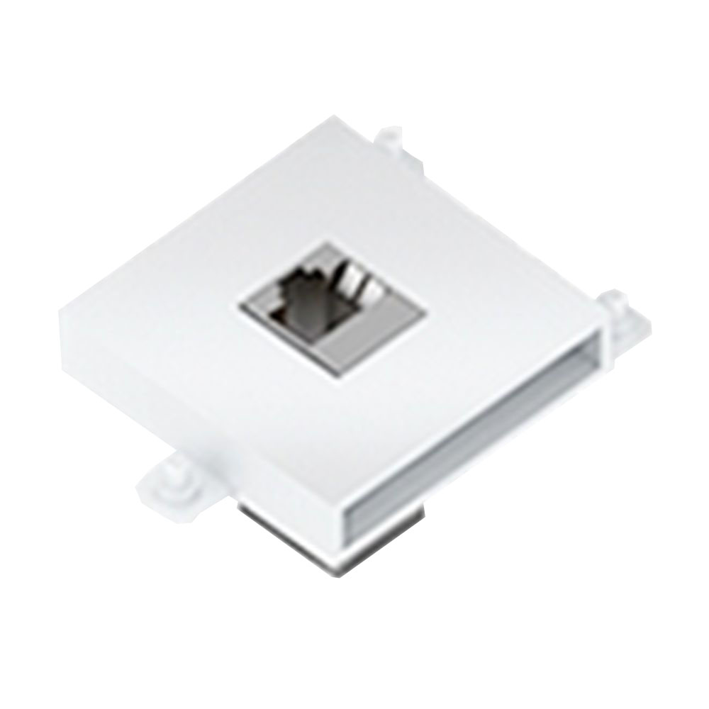 Connector Module Lan (Cat6) Colour White
