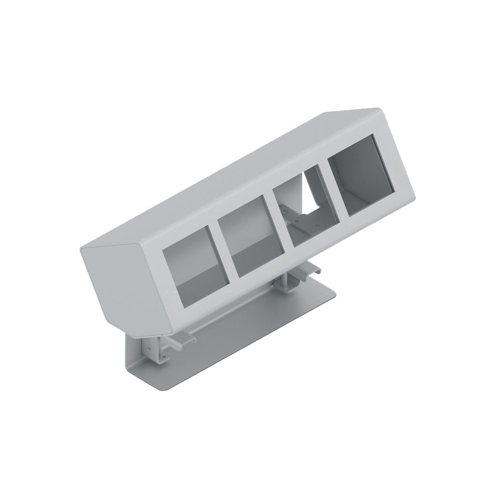 Mini4 Chassis Side Mount  Colour Silver
